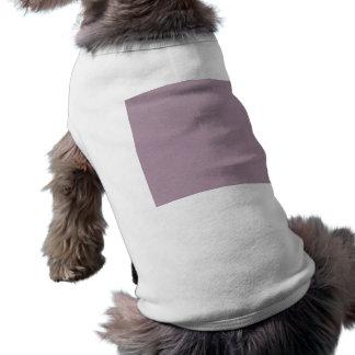 PurpleSolidPaper LIGHT MAUVE PURPLE SOLID COLOR BA Sleeveless Dog Shirt