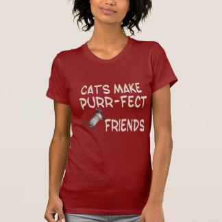 Purr-fect Friends T-shirts