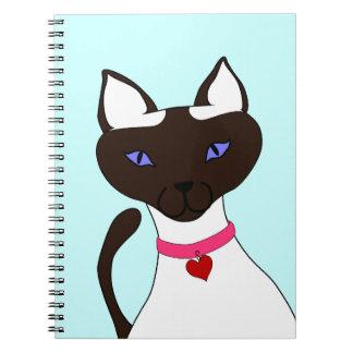 Purr-fect Moira Aqua Notebook