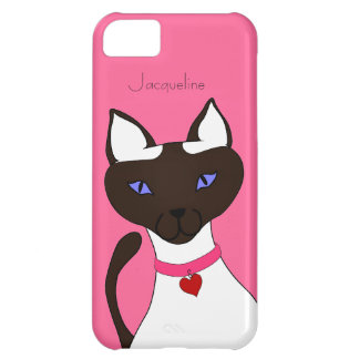 Purr-fect Moira pink iPhone 5c iPhone 5C Case