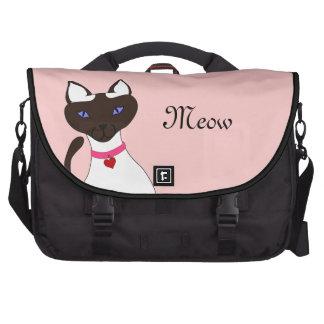 Purr-fect Moira Pink Laptop Bag