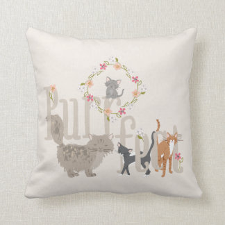 Purrfect Cats Cushion