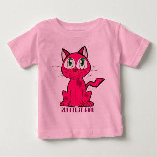 Purrfect girl pun baby T-Shirt