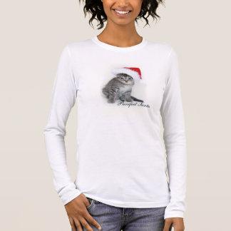 Purrfect Santa t-shirt