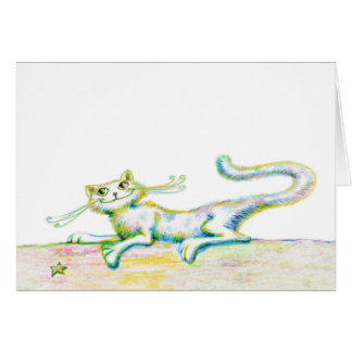 """Purring About You - Note Card - 5.6"""" x 4"""""""