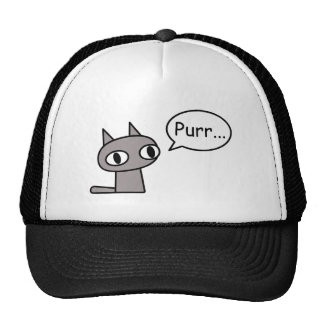 Purring Cat Cap