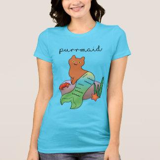 Purrmaid, Funny Ocean Cat T-Shirt