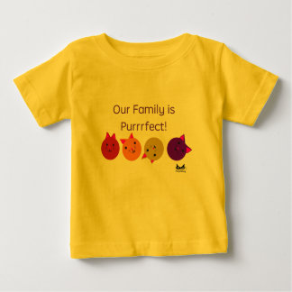 Purrrfect Family Baby T-Shirt