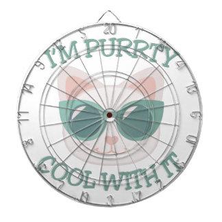 Purrty Cool Dart Board