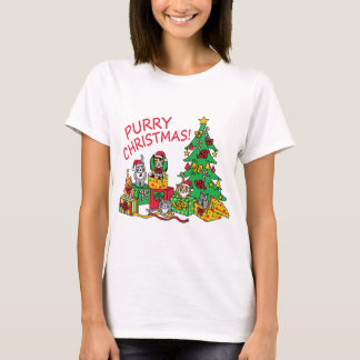 Purry Christmas! T-Shirt