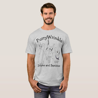 PurryWrinkle Sphynx and Bambino kitties T-Shirt