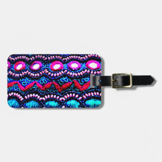 Purse Embroidery from India Luggage Tag