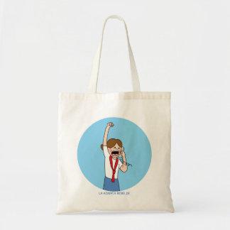 Purse for the rebellious stewardess tote bag