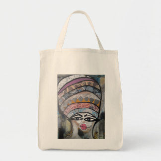 Purse with woman nº1 tote bag