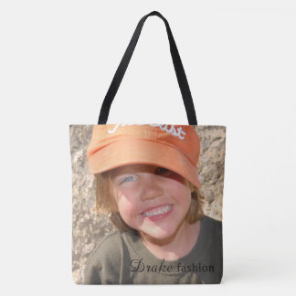 Purse with your Fashion Photo and name Tote Bag