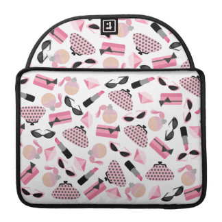 Purses & Lipstick Rickshaw Macbook Pro Sleeve