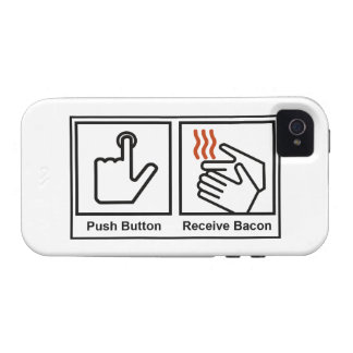 Push Button, Receive Bacon Case For The iPhone 4