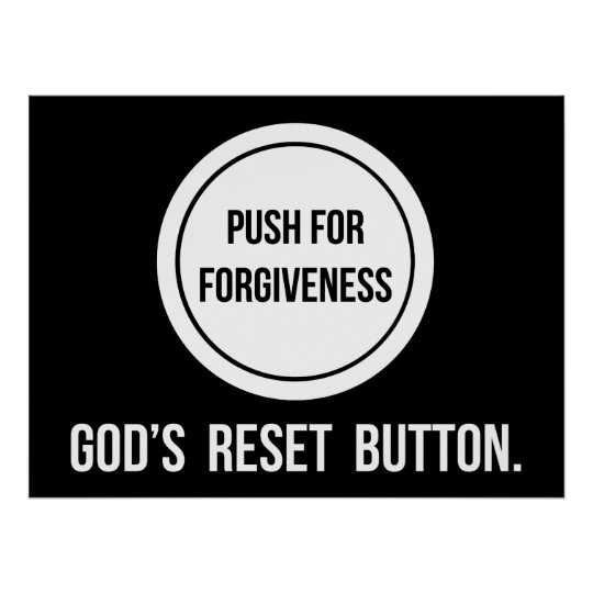 Push for Forgiveness Poster