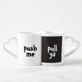 push me pull ya Mug Set