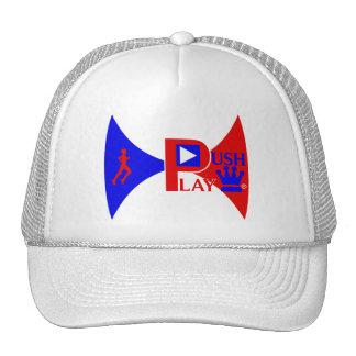 Push Play Athletic Wear Running Trucker Hats
