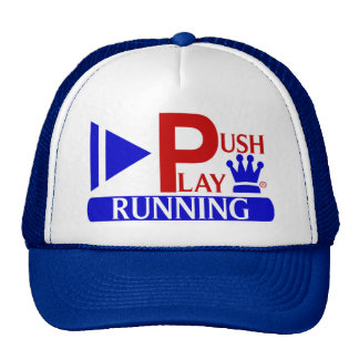 Push Play Athletic Wear Running Trucker Hat