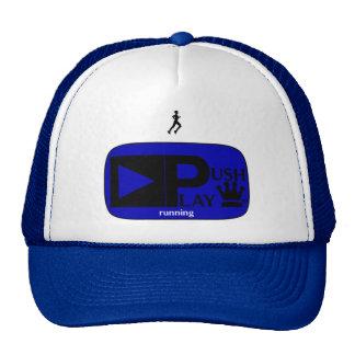 Push Play Athletic Wear Running Mesh Hat