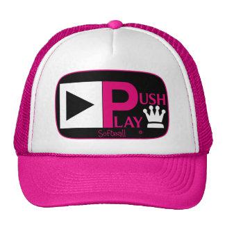 Push Play Athletic Wear Softball Trucker Hat