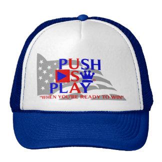 Push Play Athletic Wear USA Trucker Hats