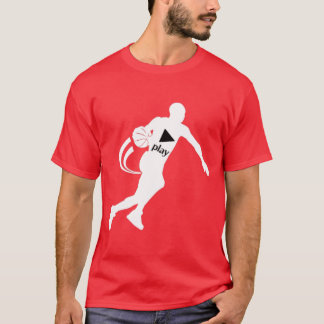 PUSH PLAY BASKETBALL T-SHIRT