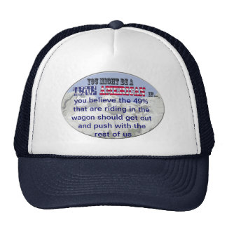 push wagon with rest of us mesh hat