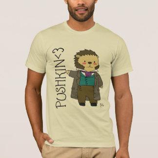Pushkin hedgehog t-shirt