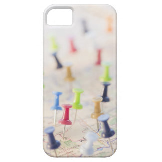 Pushpins in a map 2 barely there iPhone 5 case