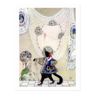 Puss In Boots By Kay Nielsen Postcard