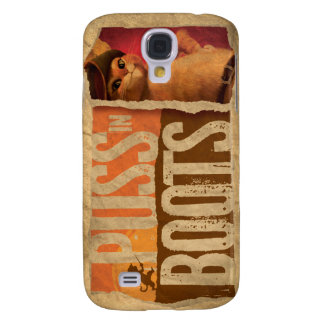 Puss in Boots Galaxy S4 Cases