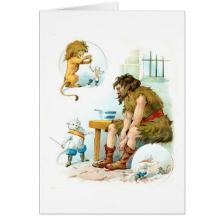 Puss In Boots & The Ogre, Card