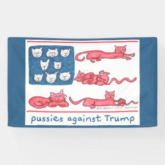 Pussies Against Trump flag