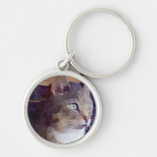 Pussy Cat Key Ring