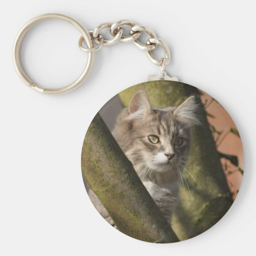 Pussy Cat Keychain
