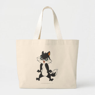 Pussy Foot Angry2 Large Tote Bag