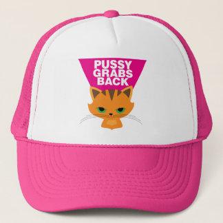 Pussy Grabs Back Trucker Hat
