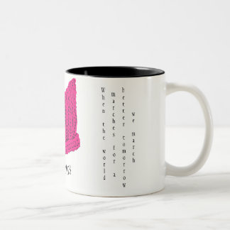Pussy Hat Mug - for a little love in the morning