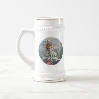 Pussy Power | Feminist AF Beer Stein