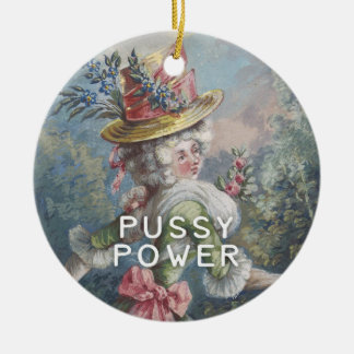Pussy Power | Feminist AF Ceramic Ornament