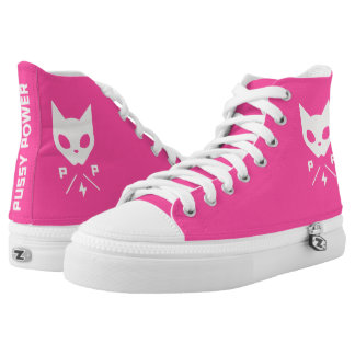 Pussy Power High Top Shoes