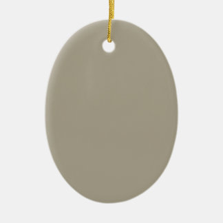 Pussy Willow Grey in an English Country Garden Ceramic Oval Decoration