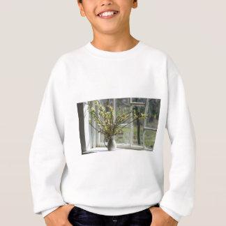 Pussy Willows By The Windowsill Sweatshirt