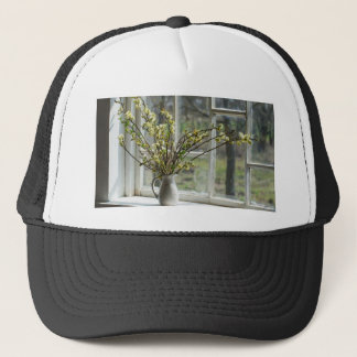 Pussy Willows By The Windowsill Trucker Hat