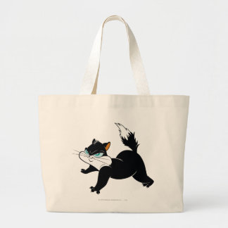 Pussyfoot Claws Out Large Tote Bag