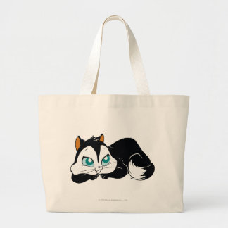 Pussyfoot Cute Kitty Large Tote Bag