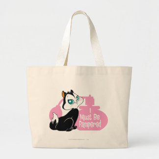 Pussyfoot I Must Be Pampered Large Tote Bag